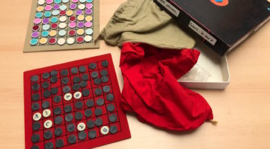 Scoperte archeo-ludiche prototipi Verba Volant e Colors