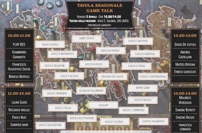 Tavola Esagonale VII ed. featured
