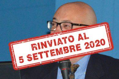 Dendi Giorgio rinviato 5 sett
